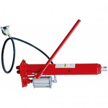Black Motorcycle Hydraulic Hand Clutch Master Cylinder Rod System Transfer Pump