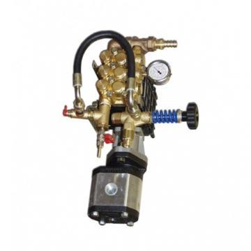 Hydraulique 8 Gpm Deux Étape Hi-Low Gear Pompe C/W Lanterneau Moteur Kit GX120 /