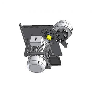Hi-Low Pompe Lanterneau Et Lecteur Accouplement Kit Pour Suit 2.2KW Moteur 2 Mât