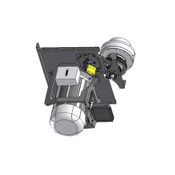 Hi-Low Pompe Lanterneau Et Lecteur Accouplement Kit Pour Suit 2.2KW Moteur 4 Mât