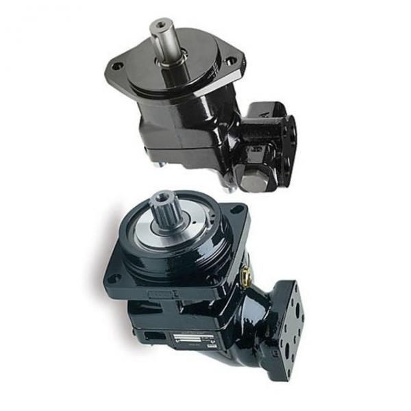 1 Pompe hydraulique bosch A10VSO Cylindrée variable R910967365 + moteur abb 11kw #1 image