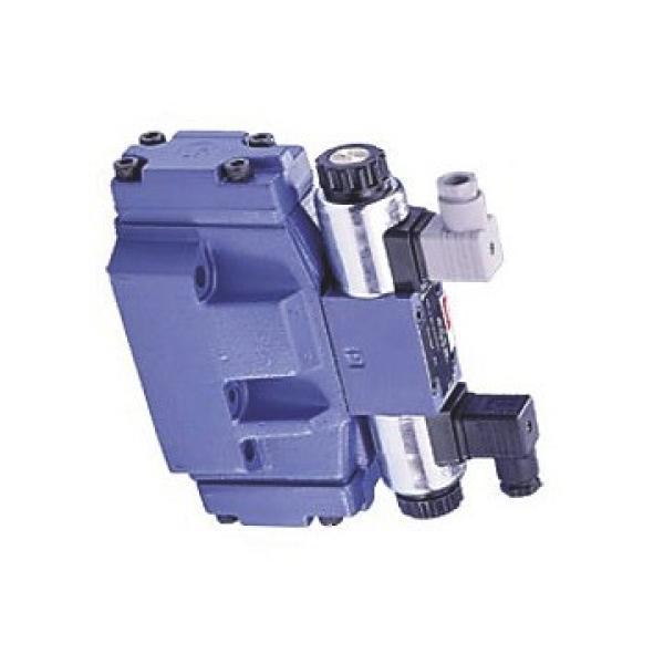Distributeur hydraulique 6 sections 40L Vannes directionnelle 2x Joystick Bobina #1 image