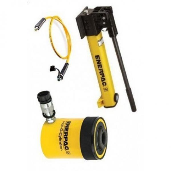 Pompe hydraulique manuel pompe à main double effet pour vérin double effet pump #2 image