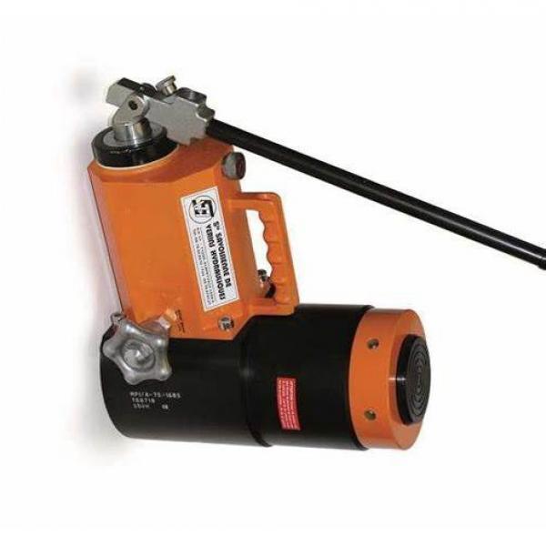 30T 100MM Creux Vérin Hydraulique Cric Pompe à pression 100MM/4IN Ram #3 image