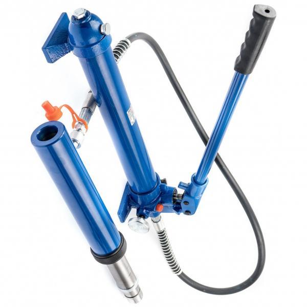 Pompe hydraulique manuel pompe à main double effet 12cc pour verin double effet #1 image