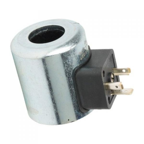 Distributeur hydraulique 6 sections 40L Vannes directionnelle 2x Joystick Bobina #2 image