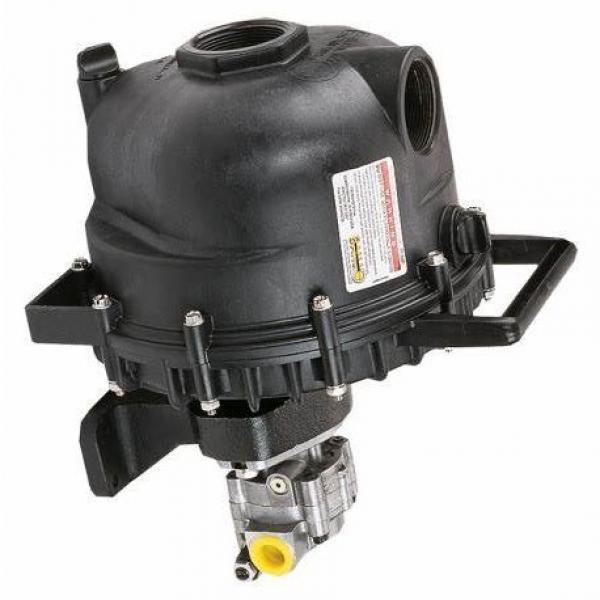 1 Pompe hydraulique bosch A10VSO Cylindrée variable R910967365 + moteur abb 11kw #2 image