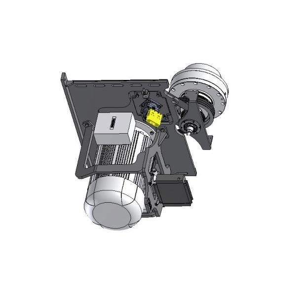 1 Pompe hydraulique bosch A10VSO Cylindrée variable R910967365 + moteur abb 11kw #3 image